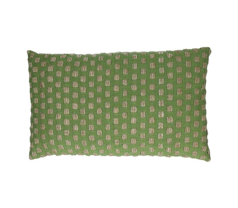 Forrest Deco Cushion in Green