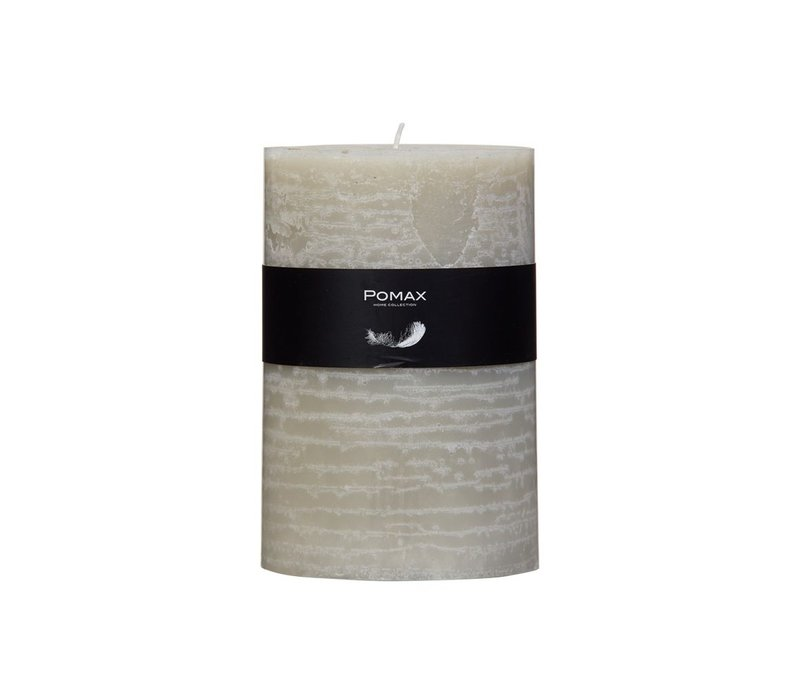 Pilar Candle in Ivory D10 H15