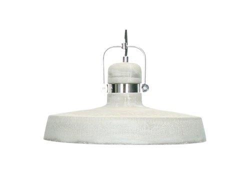 Homestore Felia Hanging Lamp in iron & concrete