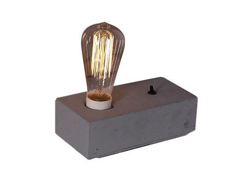 Homestore LUMIO table lamp in concrete - grey