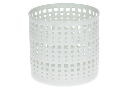 Homestore Akira T-Light Holder in Lace Porcelain