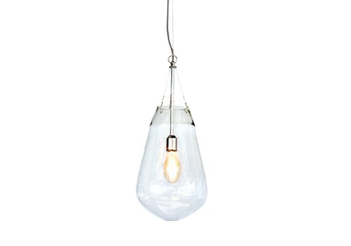 Homestore Bullia Hanging Lamp in Blown Glass - Medium