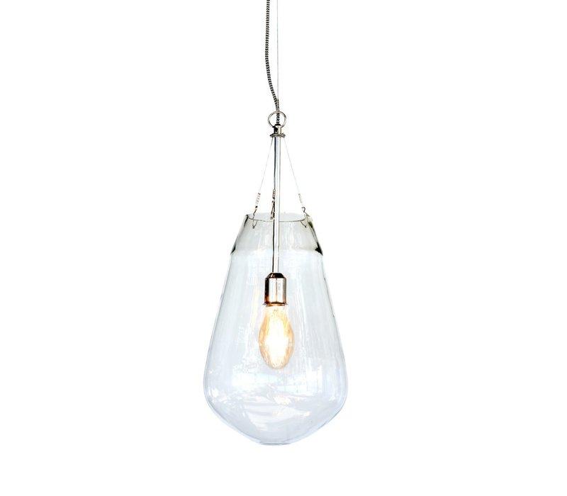 Bullia Hanging Lamp in Blown Glass - Medium