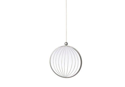 Homestore Jewels Metal Round Mirror - Medium