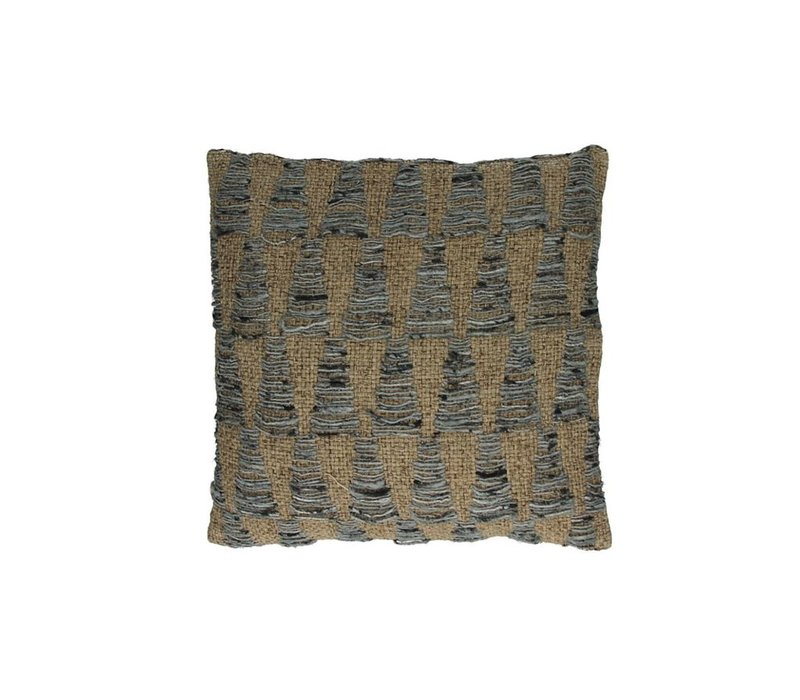 Ocean Deco Cushion in Beige