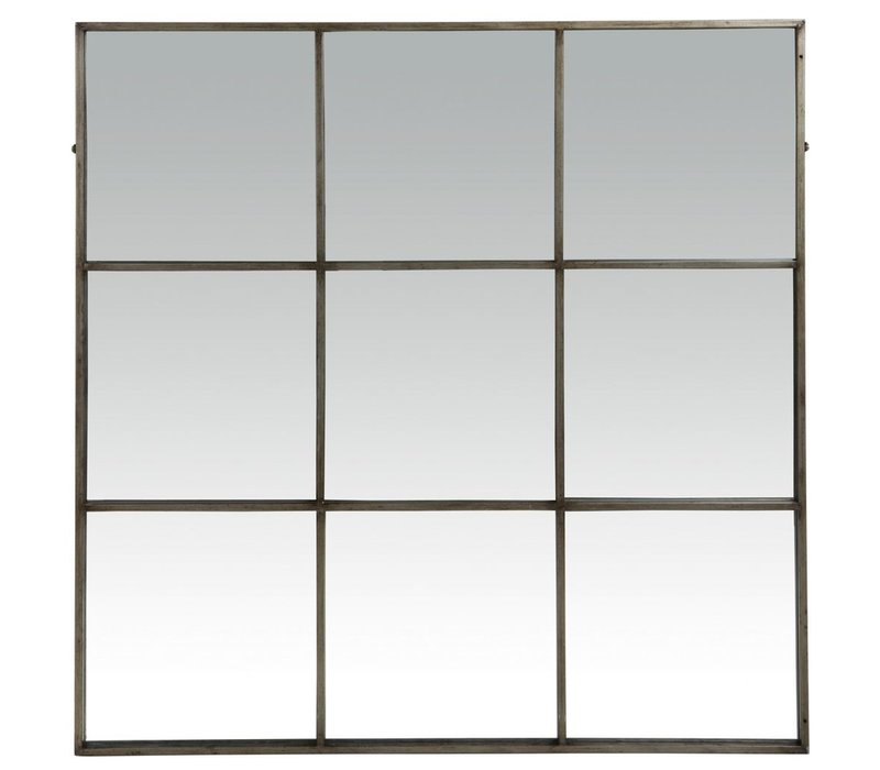 PALACE mirror 9 partitions in antic silver -