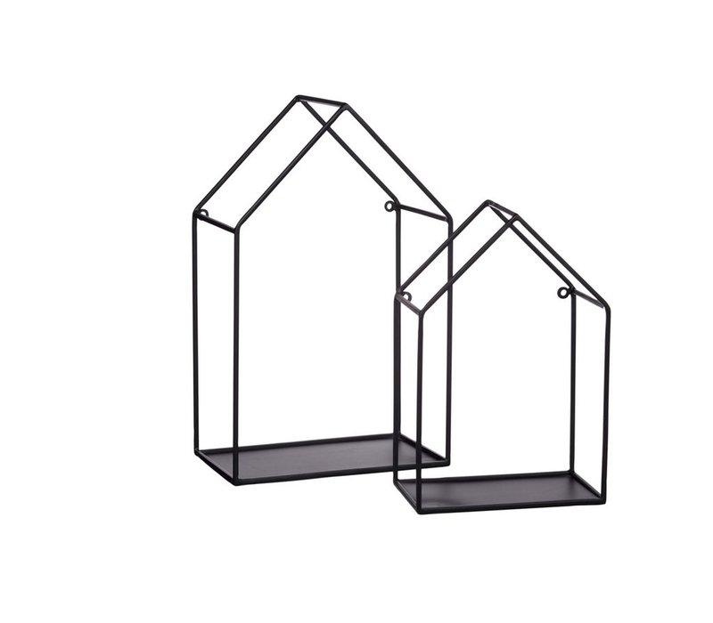House Wall Rack  - Set of 2
