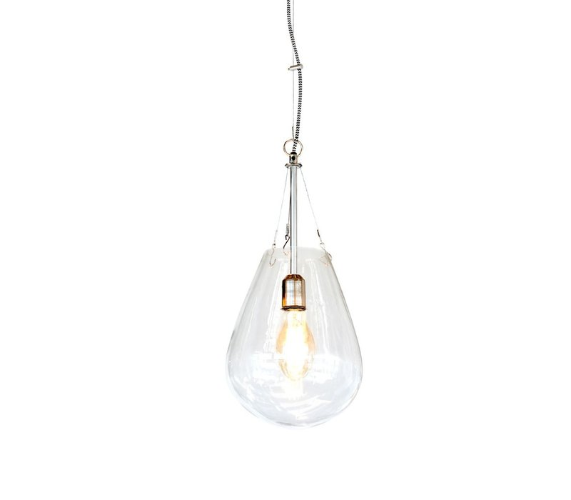 Bullia Hanging Lamp in Blown Glass - Small