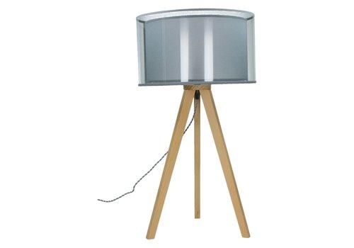 Homestore Lisbon Tripod Table Lamp (Beech Wood)