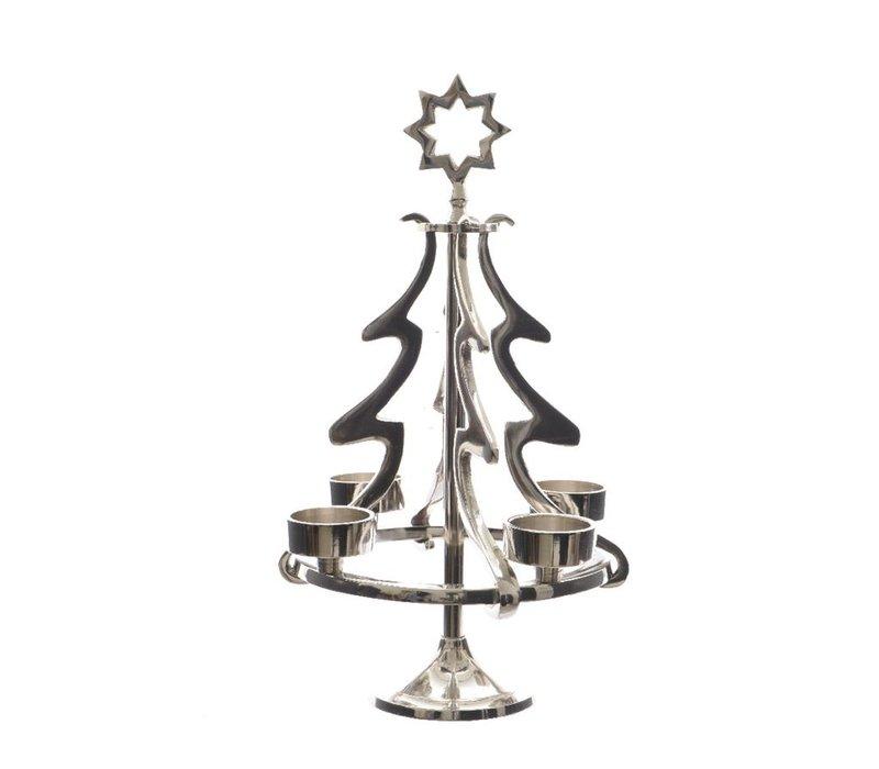 Tree Tea-Light Holder for 4 tea-lights