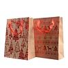 Homestore Gift Bag with trees or snowflake & deer design