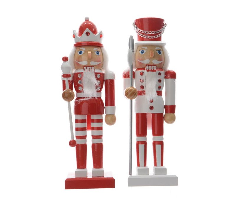 Nutcracker in Red & White