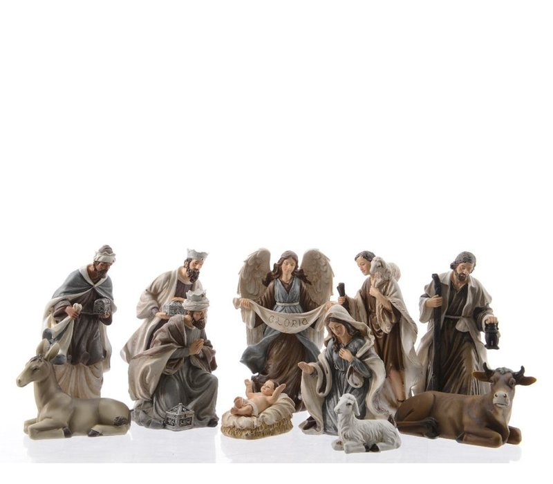 Nativity Set of 11 Figures