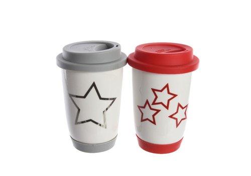 Homestore Take away Mug with Star or Snowflake