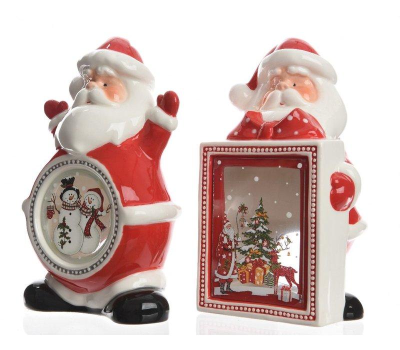 Santa Lanterns - 2 assorrted