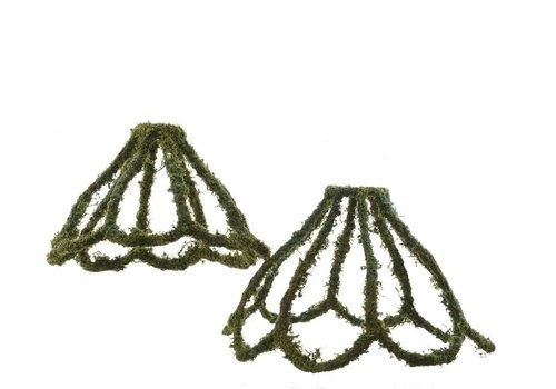 Homestore Lampshade with Natural Moss