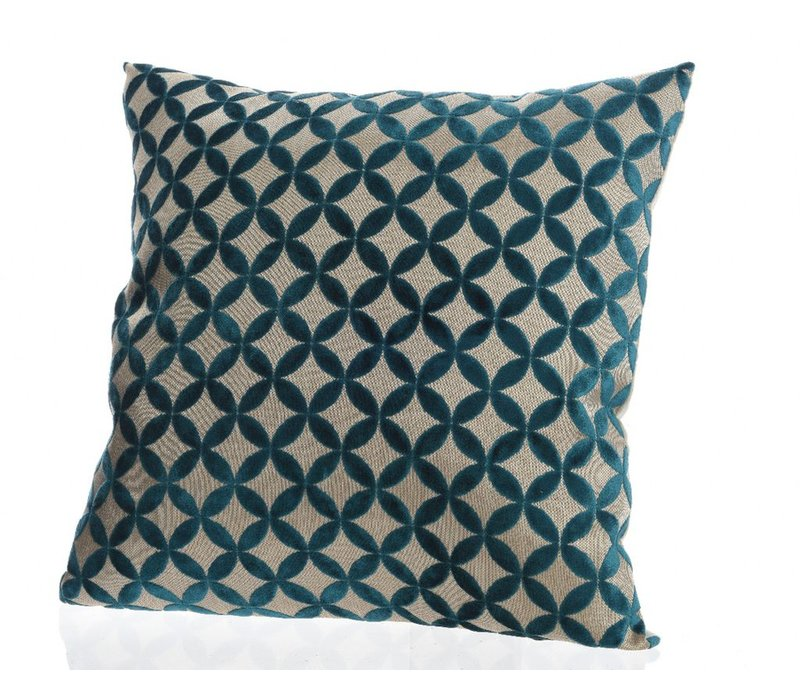 Petrol Blue Cushion 45x45cm