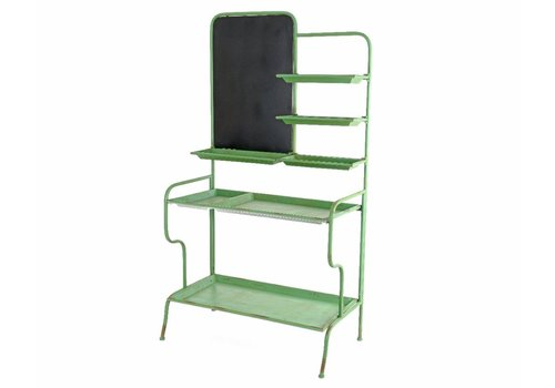 Homestore Green Cabinet with 5 Shelves
