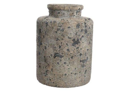 Homestore Concrete Vase with Rough Finish - Large