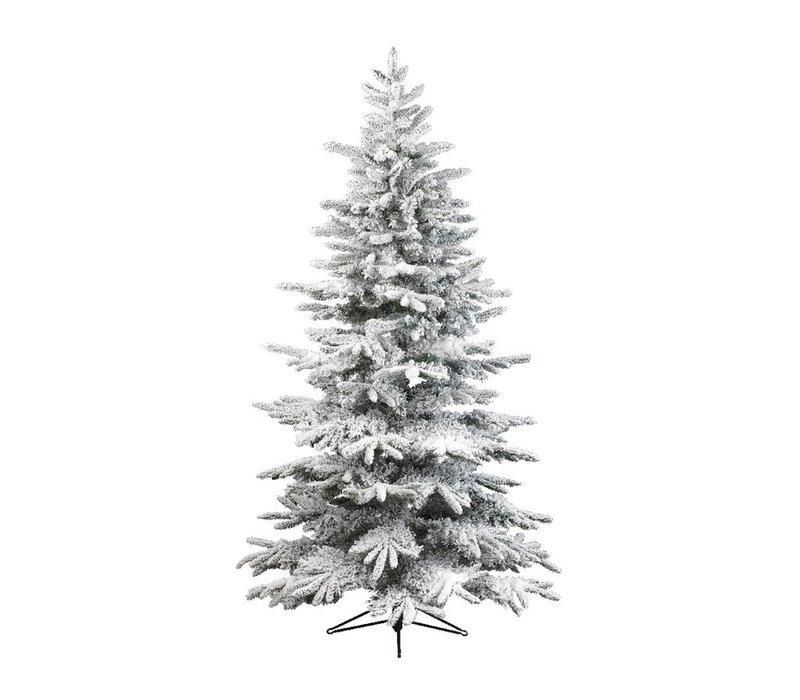 Snowy Alaskan Fir Christmas Tree 300cm (10ft)