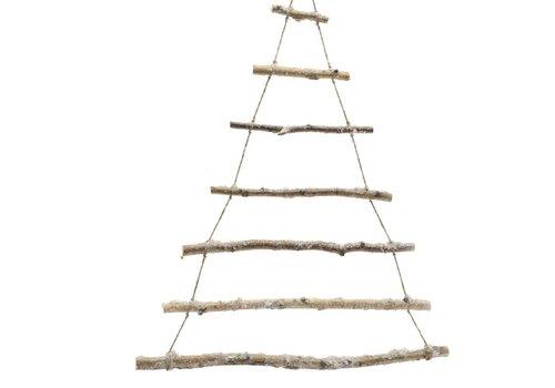 Homestore Birch Branch tree with snow - 90cm