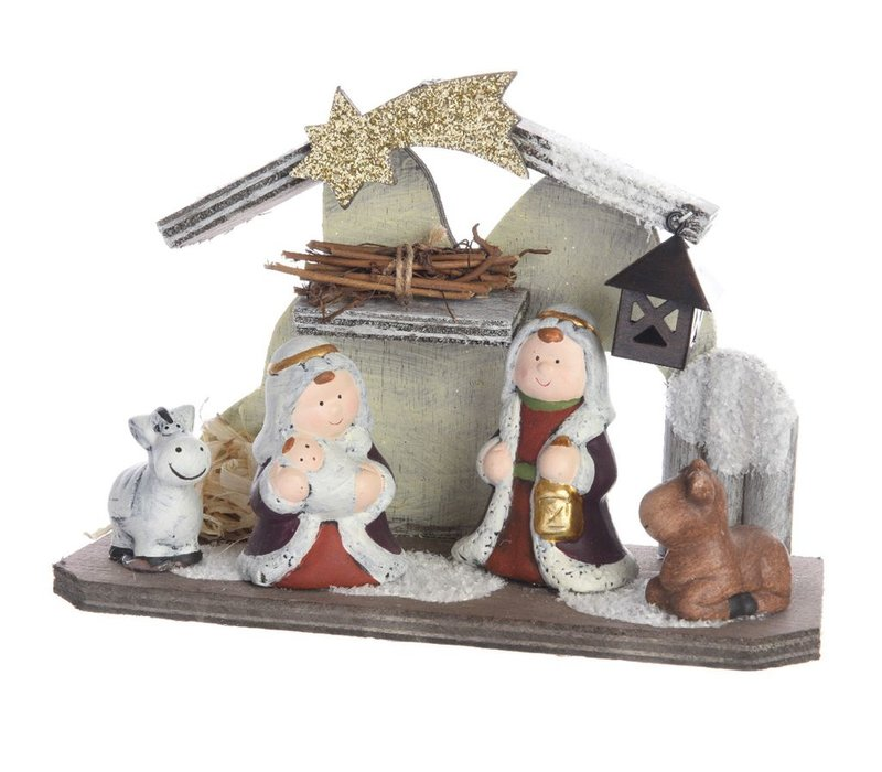 Nativity Set with figures