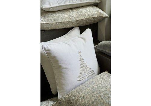 Homestore Christmas Tree Cushion - Silver 40x40