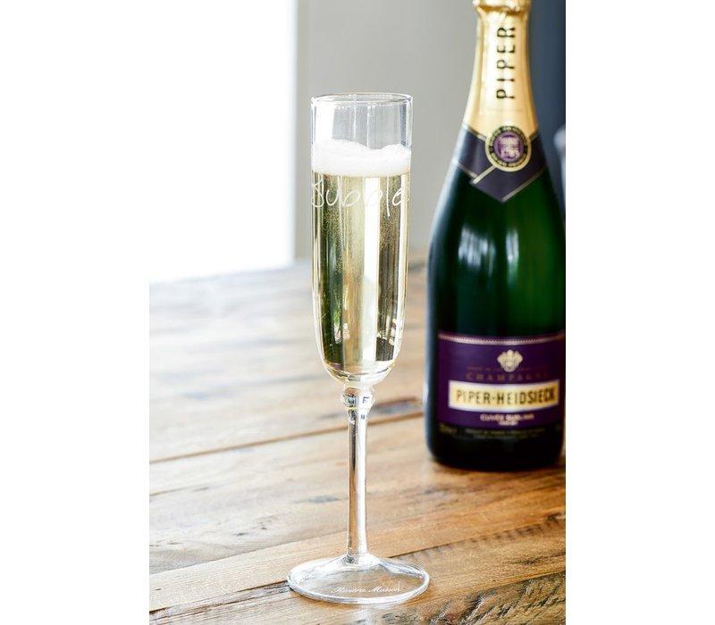 Bubble Champagne Glass