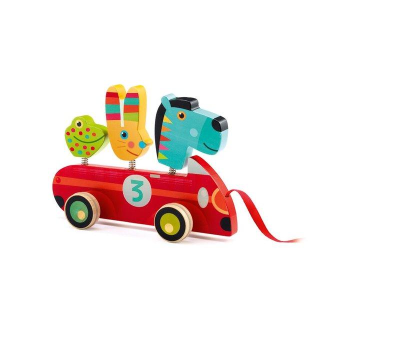 Pull along toys Zebro & Co