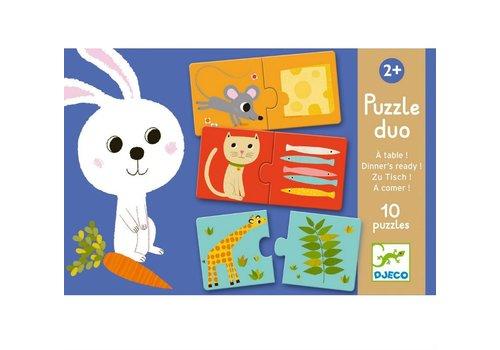 Homestore Educational games - Puzzle duo/trio Dinner