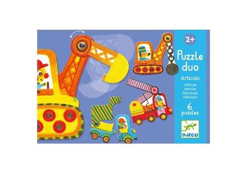 Homestore Educational games - Puzzle duo/trio Articulo Vehicles
