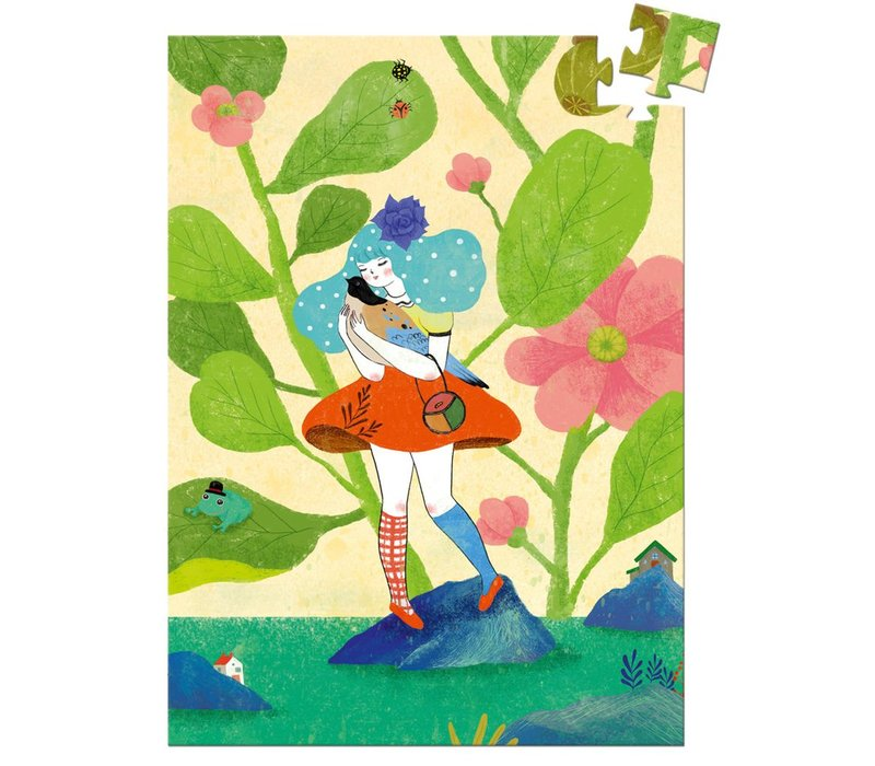 Mini puzzles Miss Chichi