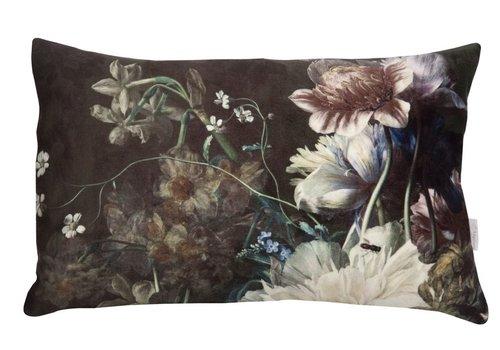 Homestore Cushion Botanic Victorian Black 30x43cm