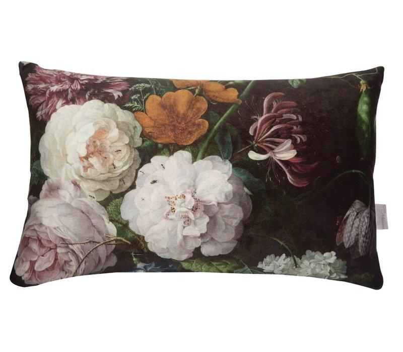 Cushion Botanic Maxima Black 30x43cm