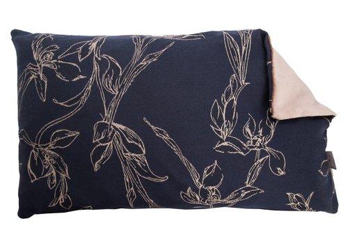 Homestore Cushion Tulip Tree in Midnight Blue 30x50cm