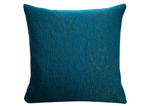 Homestore Cushion Rosalinde Petrol 45x45cm