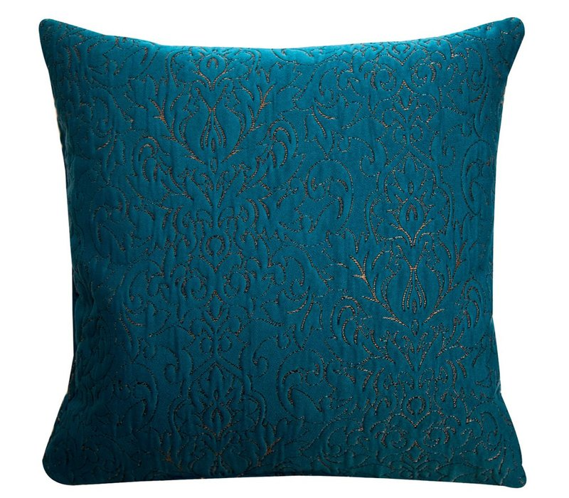 Cushion Rosalinde Petrol 45x45cm