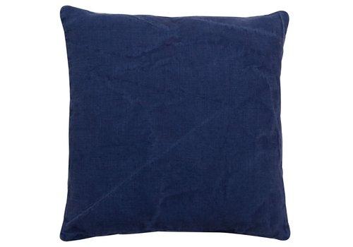 Homestore Cushion Linen Basic Oxford Blue 45x45cm