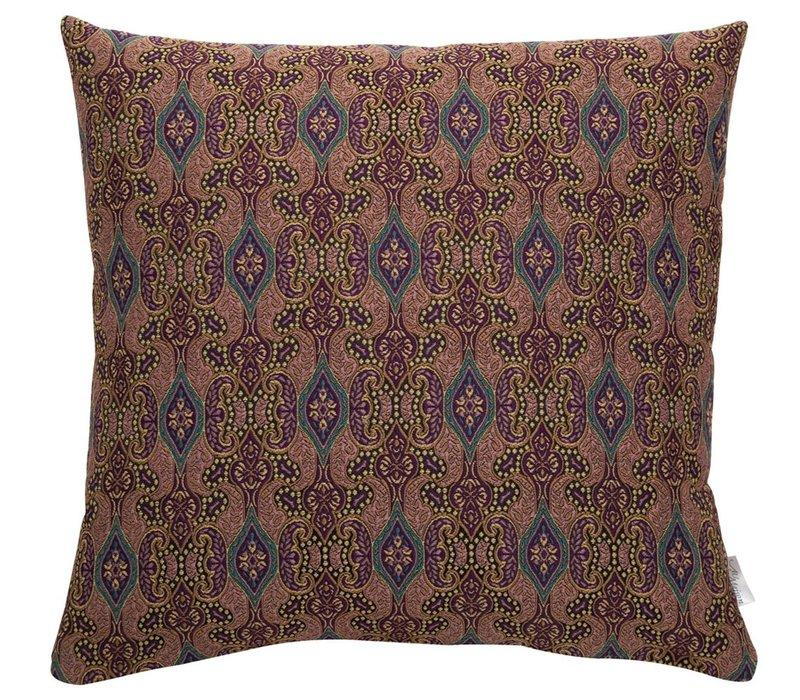 Cushion Carlton Old Rose & Gold 45x45cm