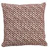 Homestore Cushion Wheat Bordeaux 45x45cm