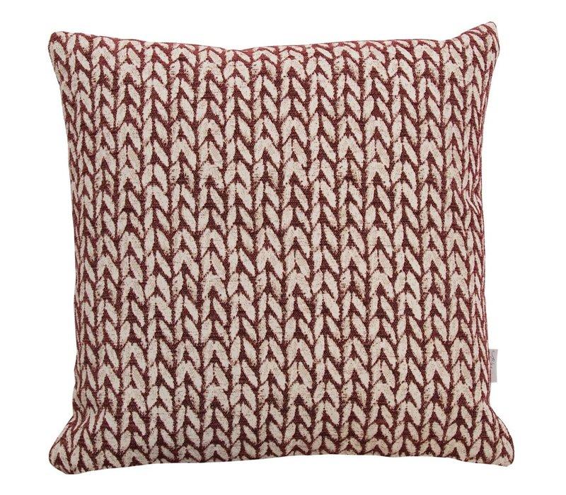 Cushion Wheat Bordeaux 45x45cm