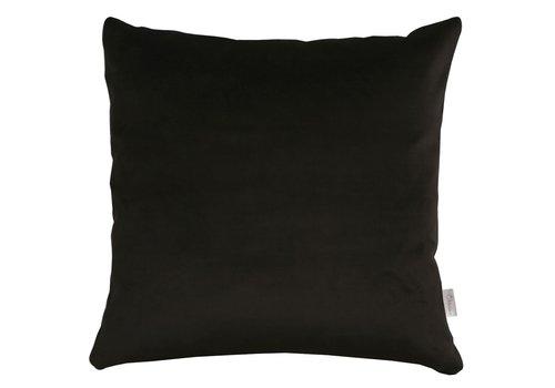 Homestore Cushion Velvet Silk Black 45x45cm
