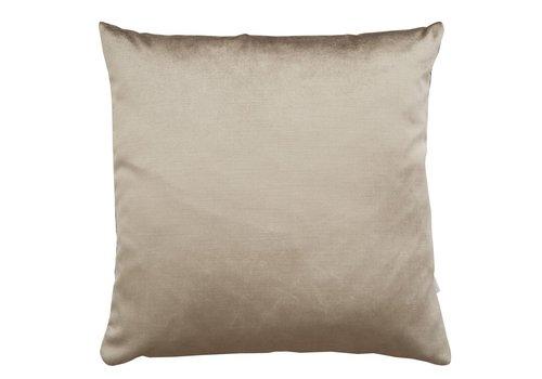 Homestore Cushion Velvet Silk Latte 45x45cm