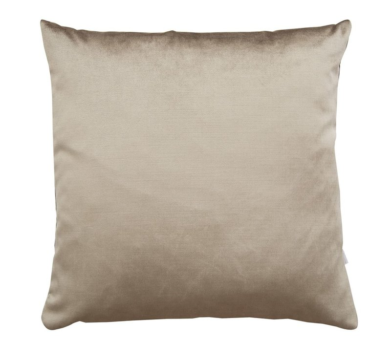 Cushion Velvet Silk Latte 45x45cm