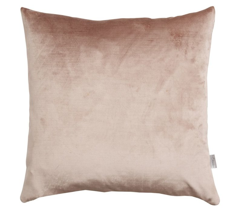Cushion Velvet Silk Dusty Rose 45x45cm