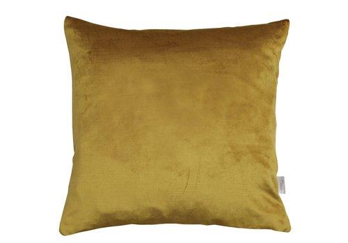 Homestore Cushion Velvet Silk in Mustard 45x45cm