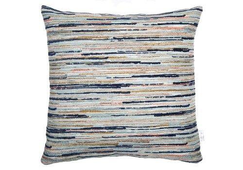 Homestore Cushion Strokes Midnight Blue 45x45cm