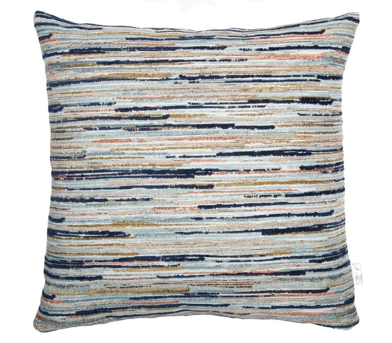 Cushion Strokes Midnight Blue 45x45cm