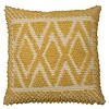 Homestore Cushion Pebble Diamonds Mustard 45x45cm