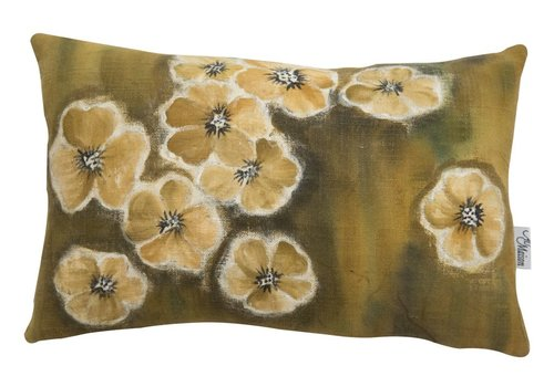 Homestore Cushion Watercolor Olive 40x25cm
